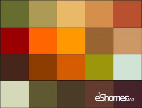 چه رنگ های از لباس برای فصل پاییز مناسبند؟