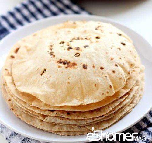 مجله خبری ایشومر نان-چاپاتی-هندی-500x470 پخت آسان چند مدل نان در خانه – نان چپاتی یا نان هندی آشپزی و غذا سبک زندگي