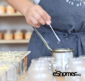 آموزش کامل ساخت شمع در خانه