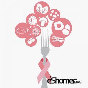 تغذیه بعد از جراحی سرطان سینه